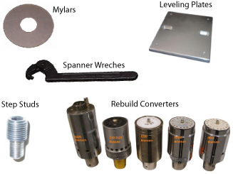 We sell accessories for your ultrasonics welders.